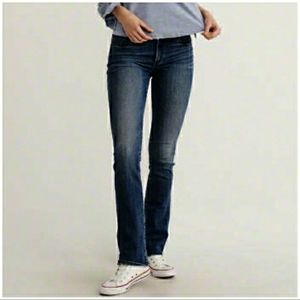 Abercrombie & Fitch Emma Bootcut Flare Jeans Dark